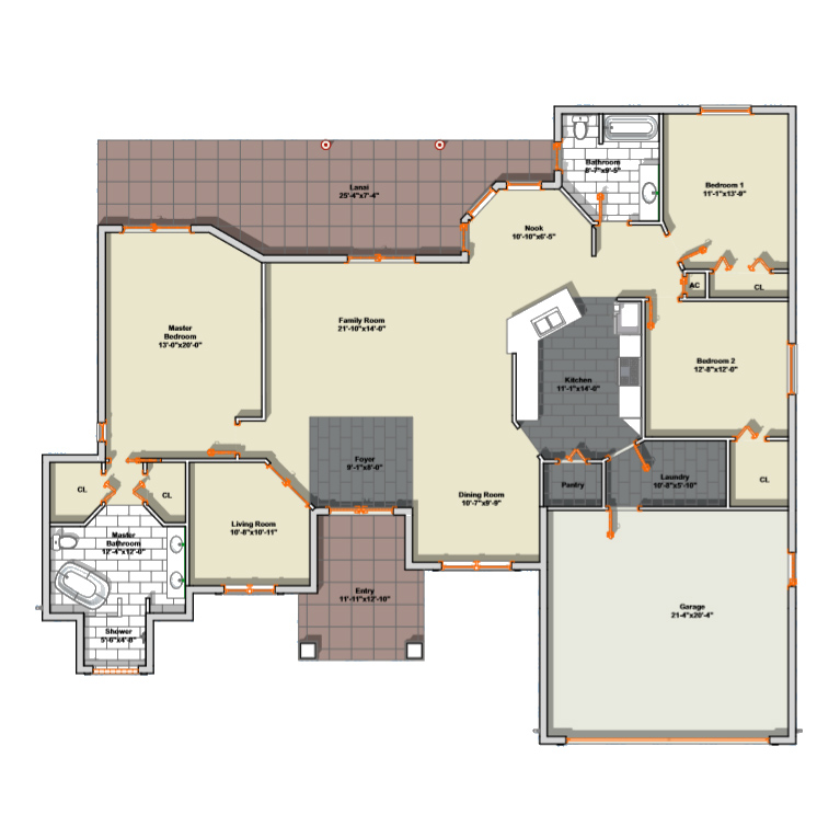 Cambridge Floor Plan