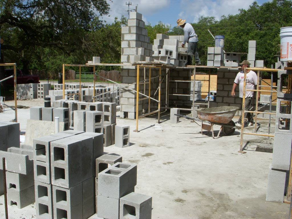 Slab and foundation of custom tampa home