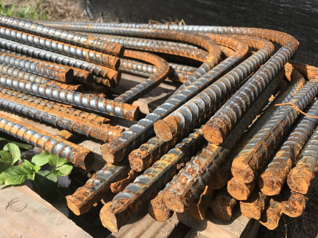 Rebar for the foundation